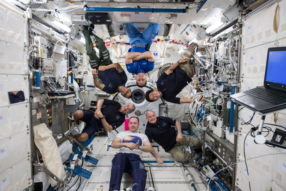 Oxygen in Space and ISS