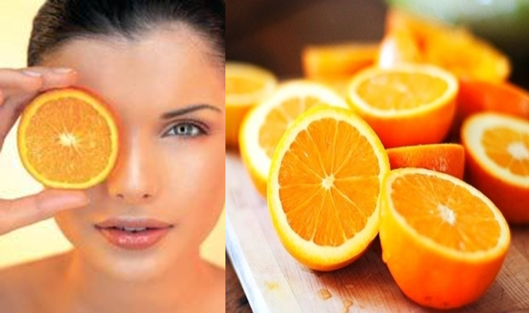 orange face pack for Natural Glowing Skin