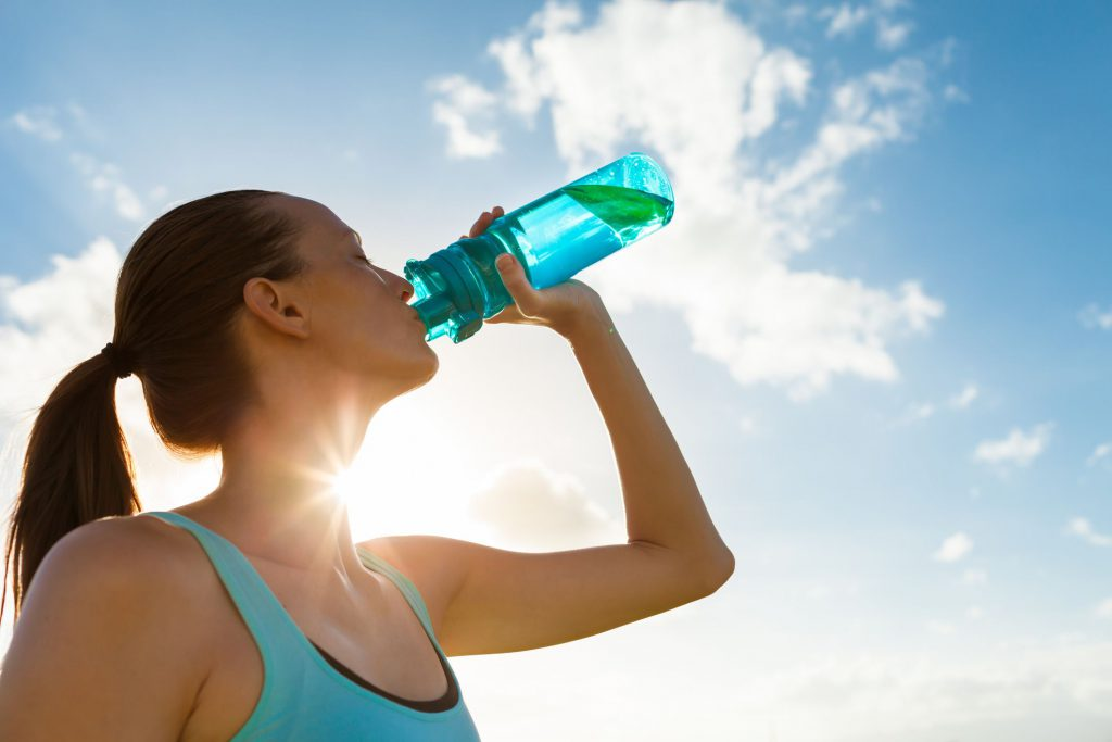 Drinking water for health for Natural Glowing Skin